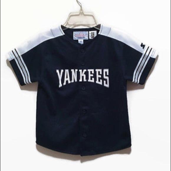 super popular d1232 05574 Little Boys Size M Roger Clemens NY Yankees Jersey
